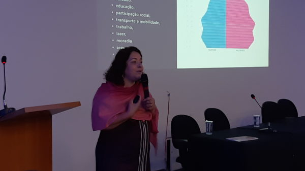 Carla Santana no Congresso Brasileiro de Gerontecnologia