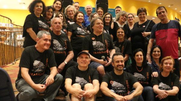 Grupo Trabalho 60+ e convidados na Livraria Cultura