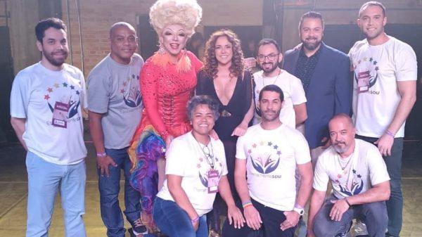 Equipe da EternamenteSOU no Seminário Velhices LGBT