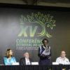 Mesa de abertura da XV Conferência Estadual do Idoso