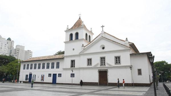 pateo do colégio aniversáriode São Paulo