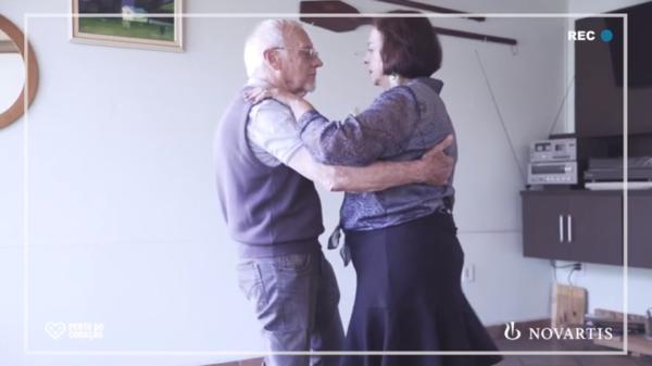 Anézio Anitell, de 83 anos, e Roseli Zanetti