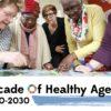 Década do Envelhecimento Saudável - OMS