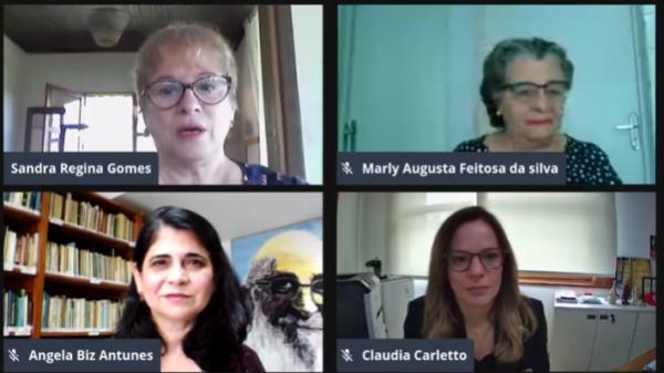 Escola de Conselhos - Sandra Gomes, Marly Feitosa, Angela Biz e Cláudia Carletto
