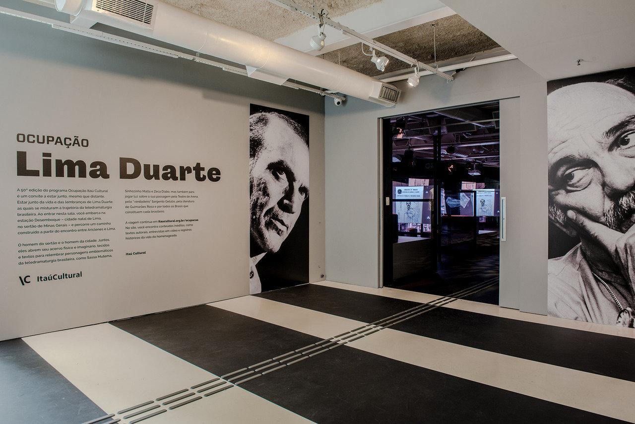 Lima Duarte - Ocupação Itaú Cultural - André Seiti