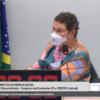 deputada Tereza Nelma - na audiência pública sobre Gerontologia