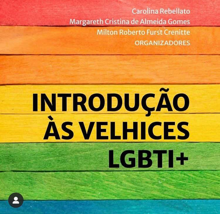 "livro ""Introdução às Velhices LGBTI+"","