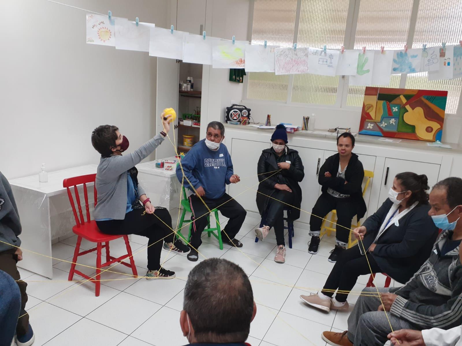 Fundação Dona Paulina de Souza Queiroz - deficiência e envelhecimento precoce