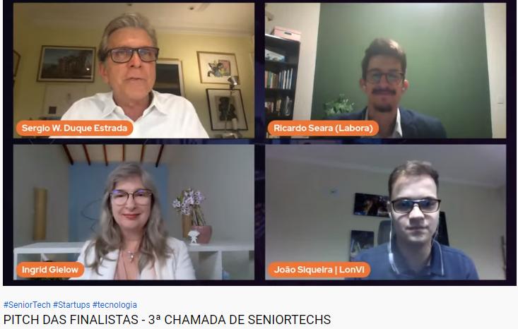 Chanada de Seniortechs - Aging 2.0 Brasil