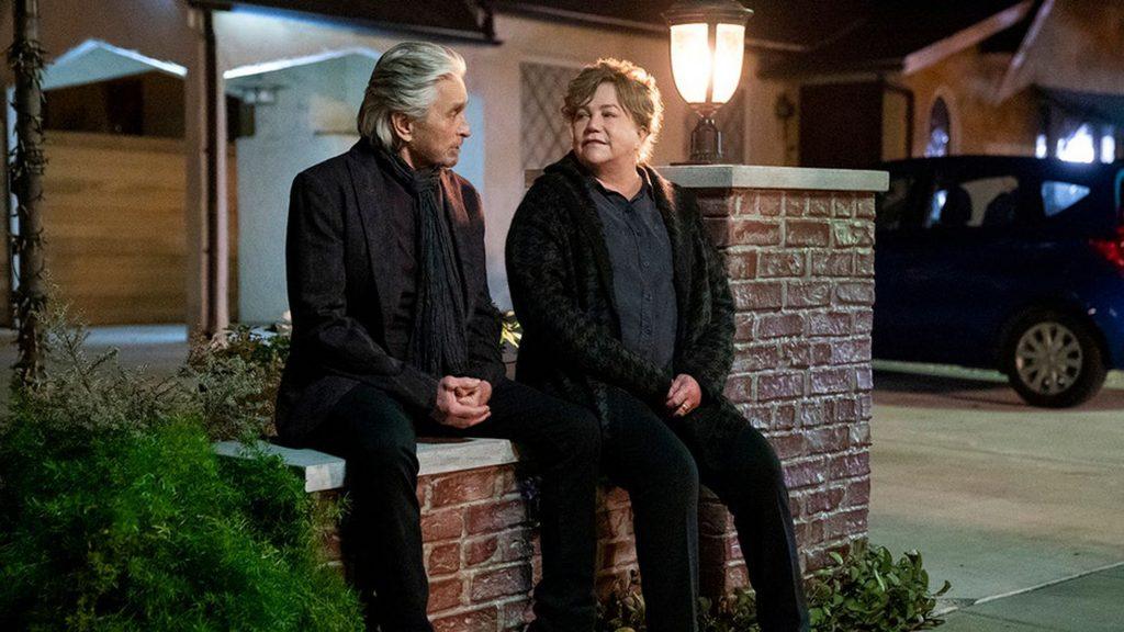 Michael Douglas e Kathleen Turner - Método Kominsky