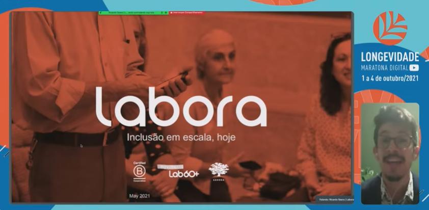 Labora - seniortech - Maratona Digital da Longevidade